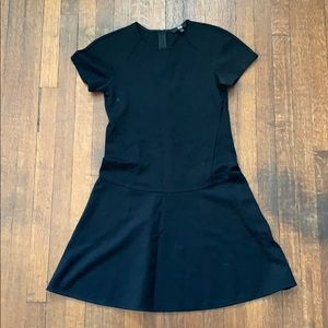 Uniqlo fit and flare dress
